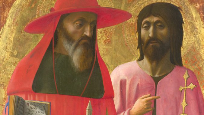 Film: Saints Jerome and John the Baptist