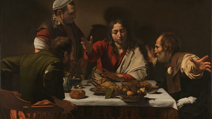 Believing is Seeing: reconciling Caravaggio's 'Supper at Emmaus' paintings