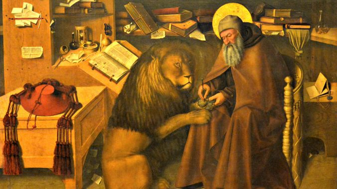 Home Alone With St Jerome