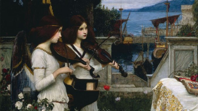 Painting the sounds: sacred music in art