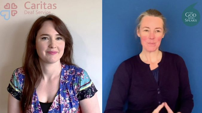 Mark's Gospel re-told in British Sign Language